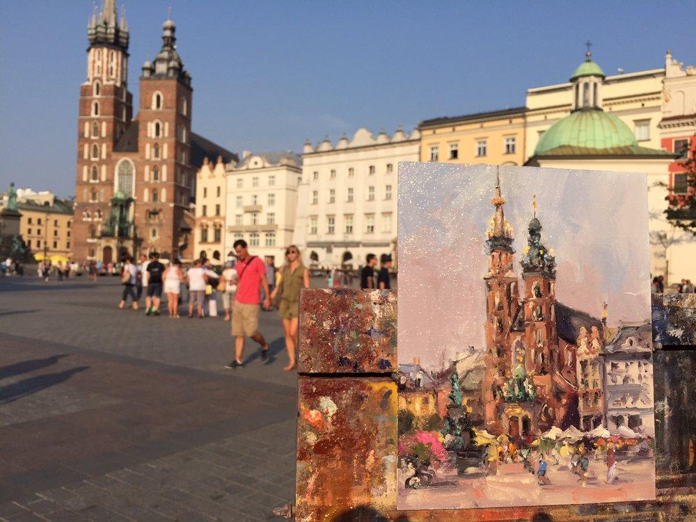 painting at st. mary's basilica, krakow, poland.jpg