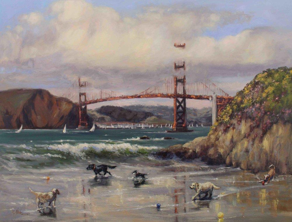 Sunday Is Funday At Baker Beach, San Francisco