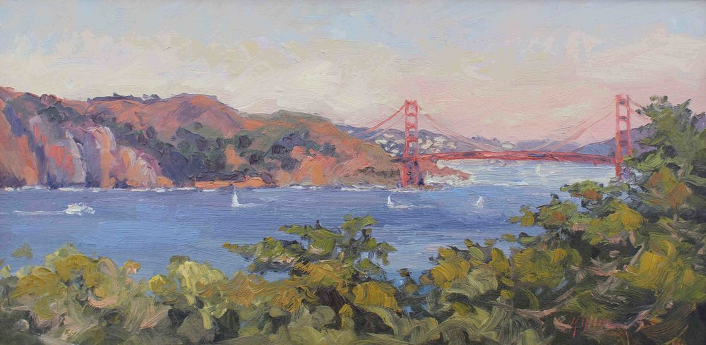 The Golden Gate Bridge From The Legion Of Honor, San Francisco