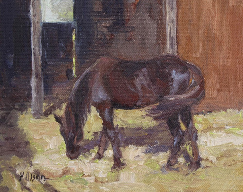 The Liver Chestnut Mare