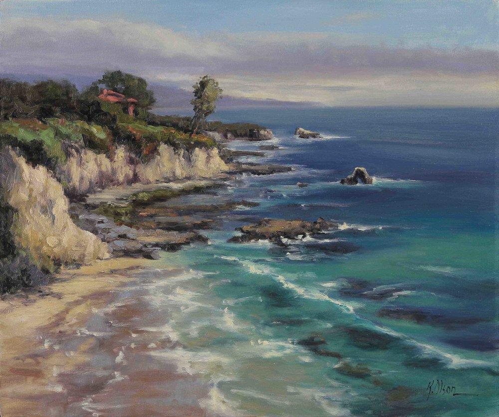 Little Corona Del Mar Beach, California