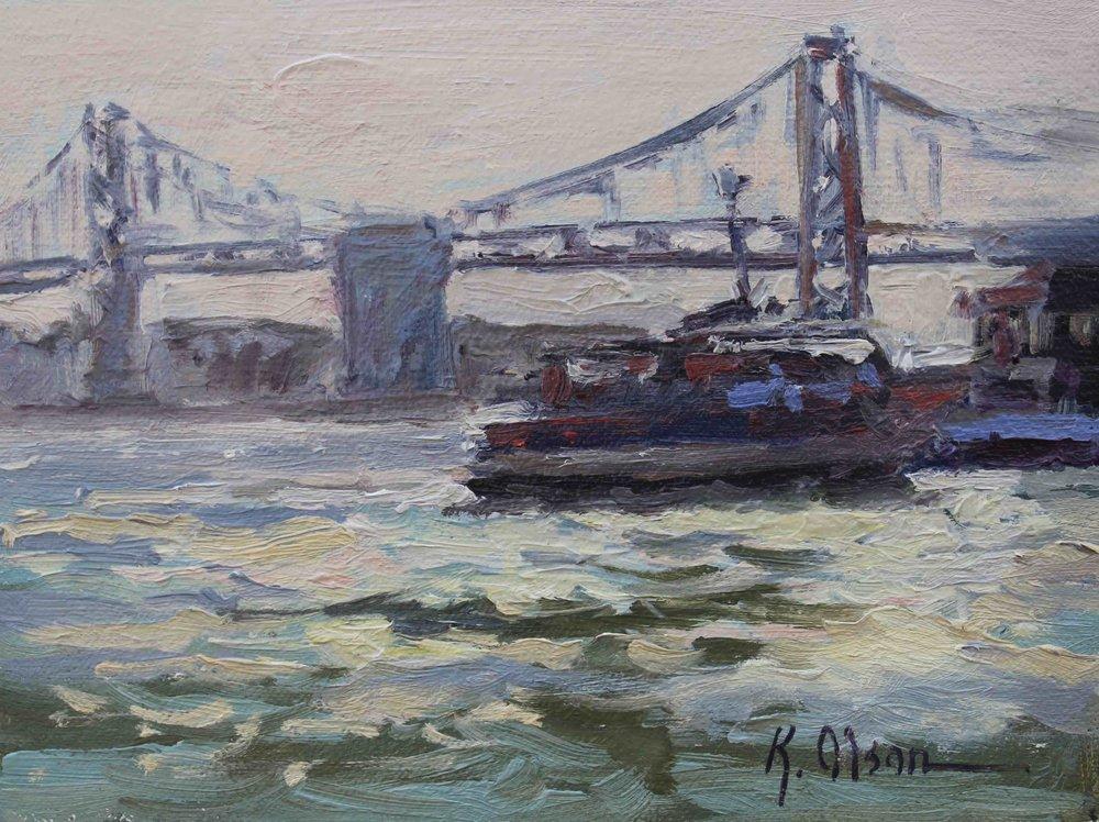 The Bay Bridge, San Franciscopanel