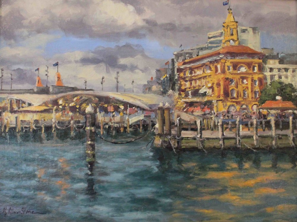 The Ferry Building, Auckland, New Zealand
