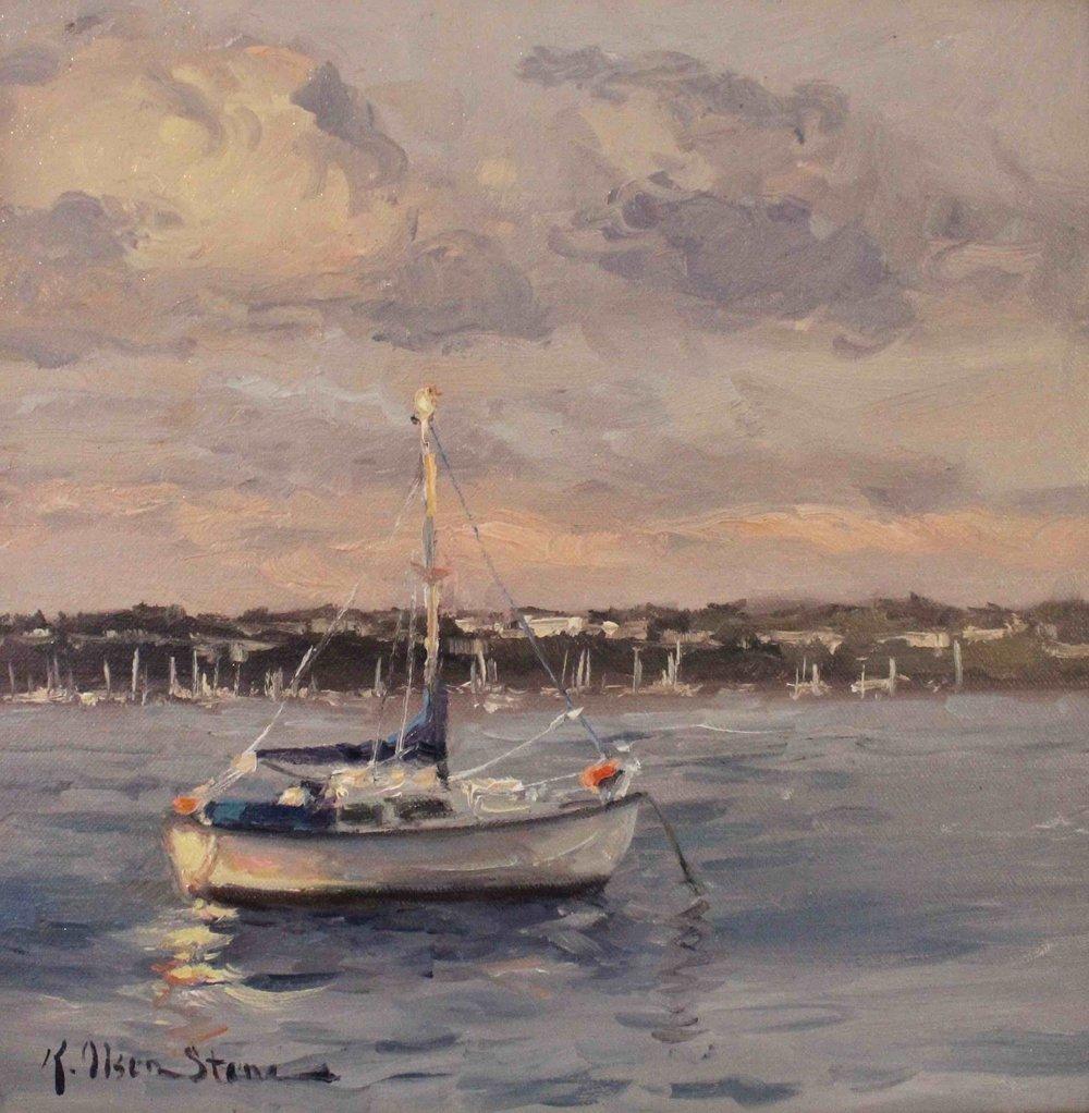 Evening Light, Devonport