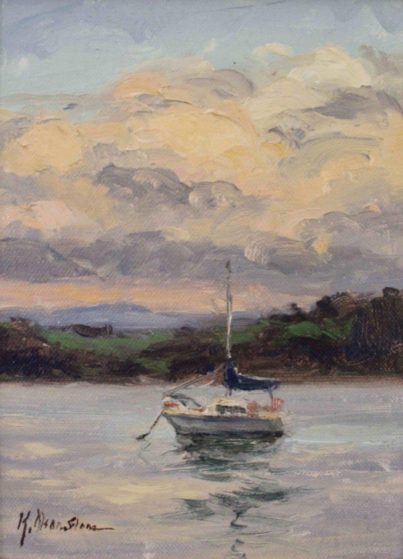 Evening Clouds, Devonport