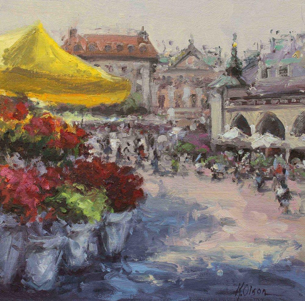 The Flower Stand, Krakow