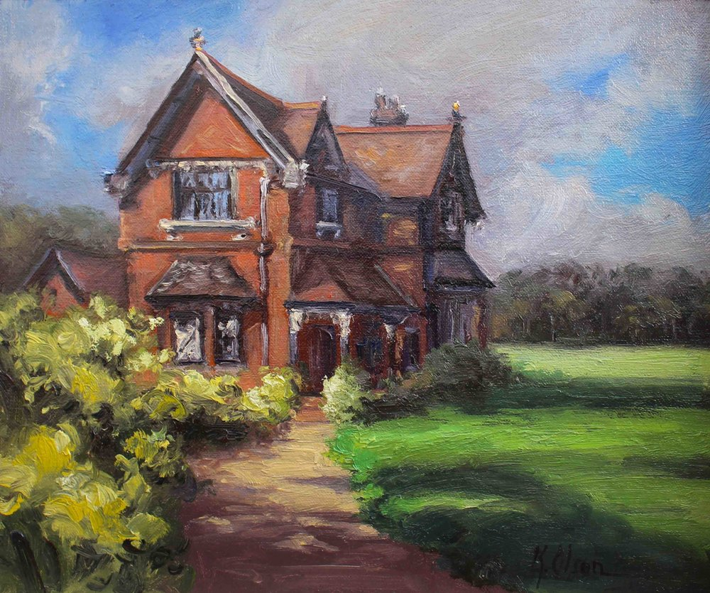 A Victorian Lodge, England