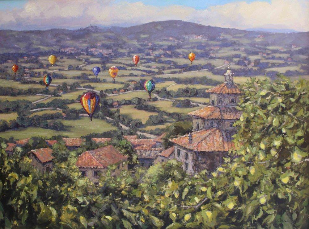 Floating Over The Valdichiana, Tuscany