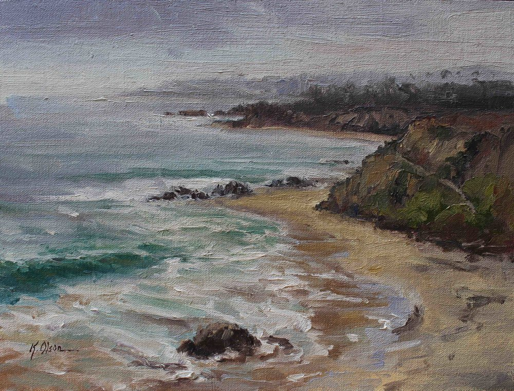 Silver Surf At Crystal Cove