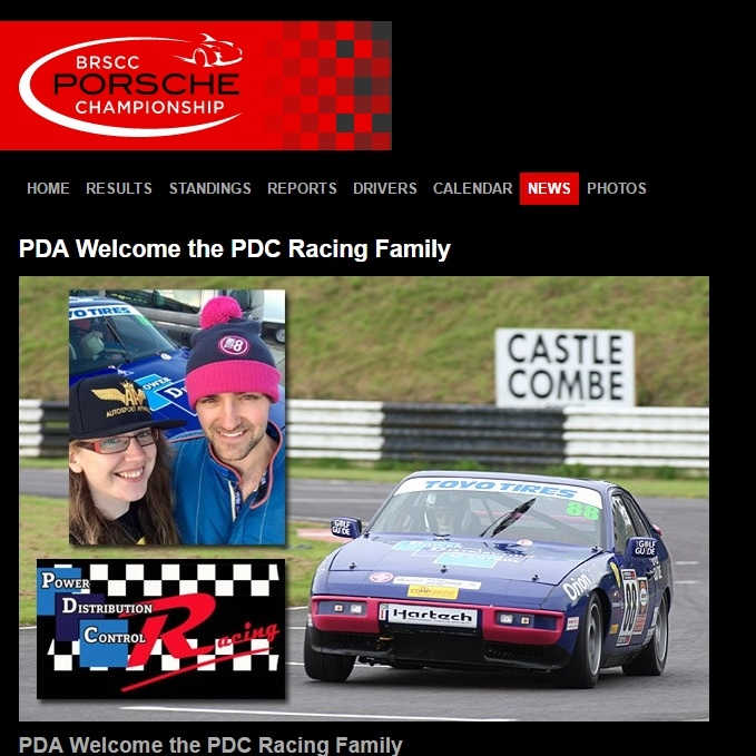 January 4, 2017 -   Porsche Racing Drivers  blog welcomes PDC Racing Family.