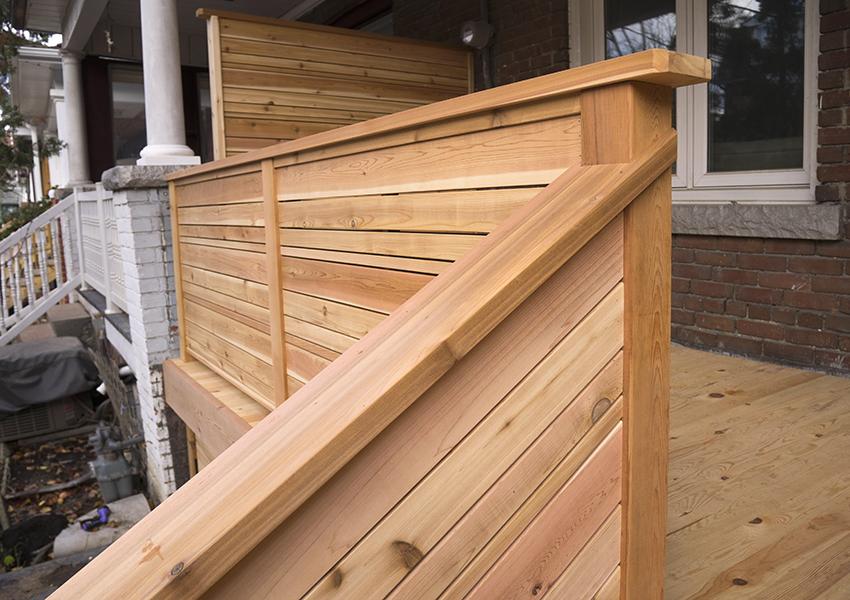 Modern Style Porch