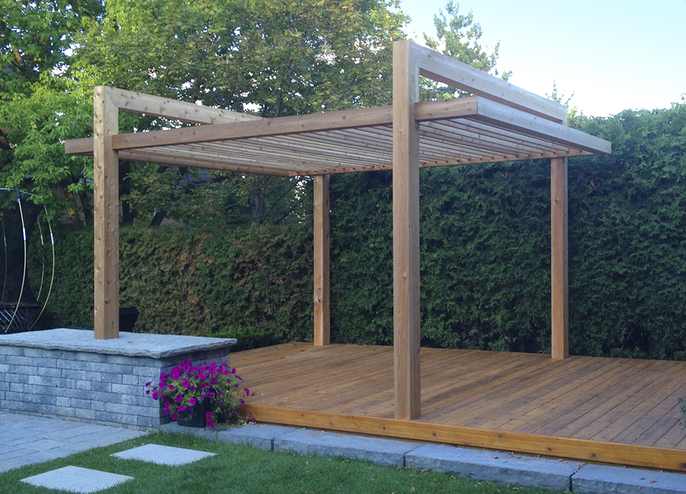 Heavy Timber Pergola
