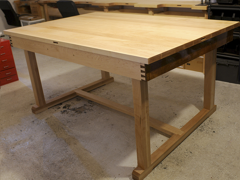 Solid Maple Workbench