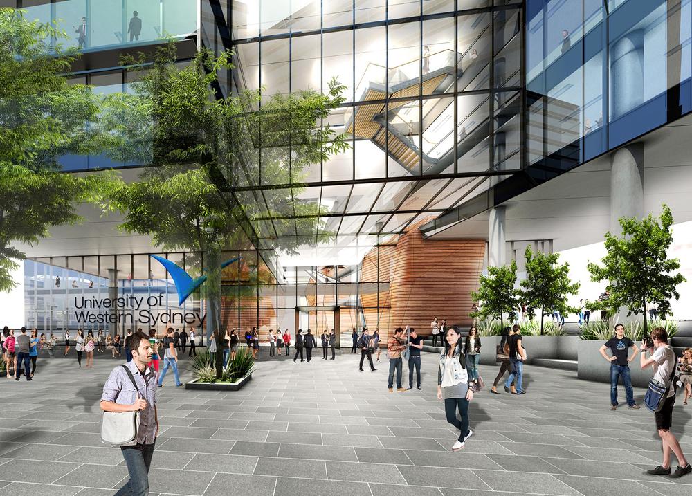 WSU - One Parramatta Square - City of Parramatta
