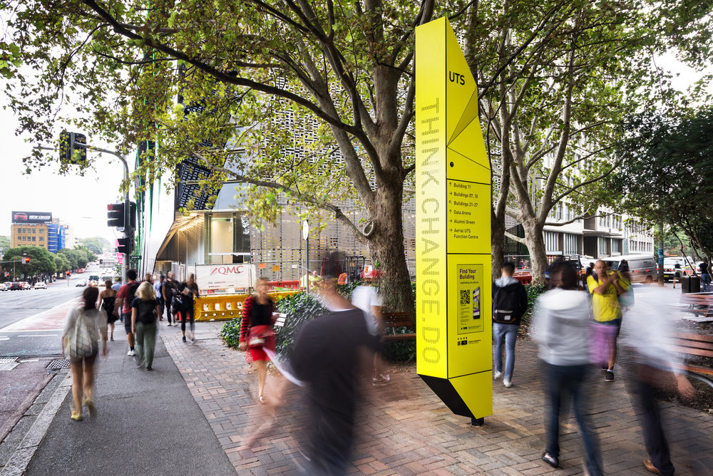 UTS - Digital Wayfinding - University of Technology Sydney