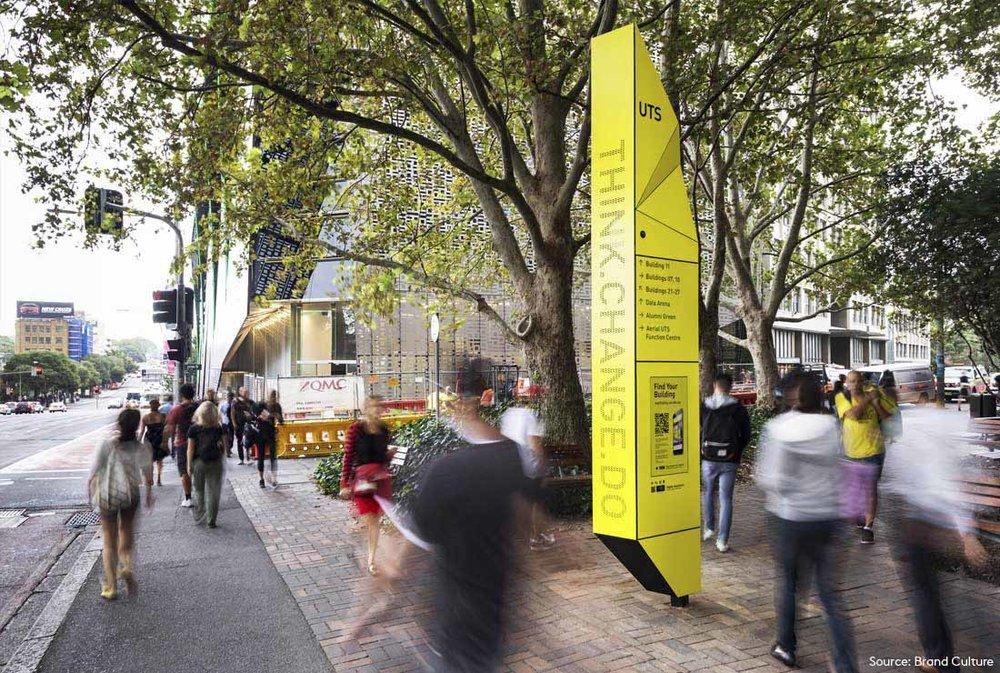 UTS - Digital Wayfinding - University Of Technology Sydney