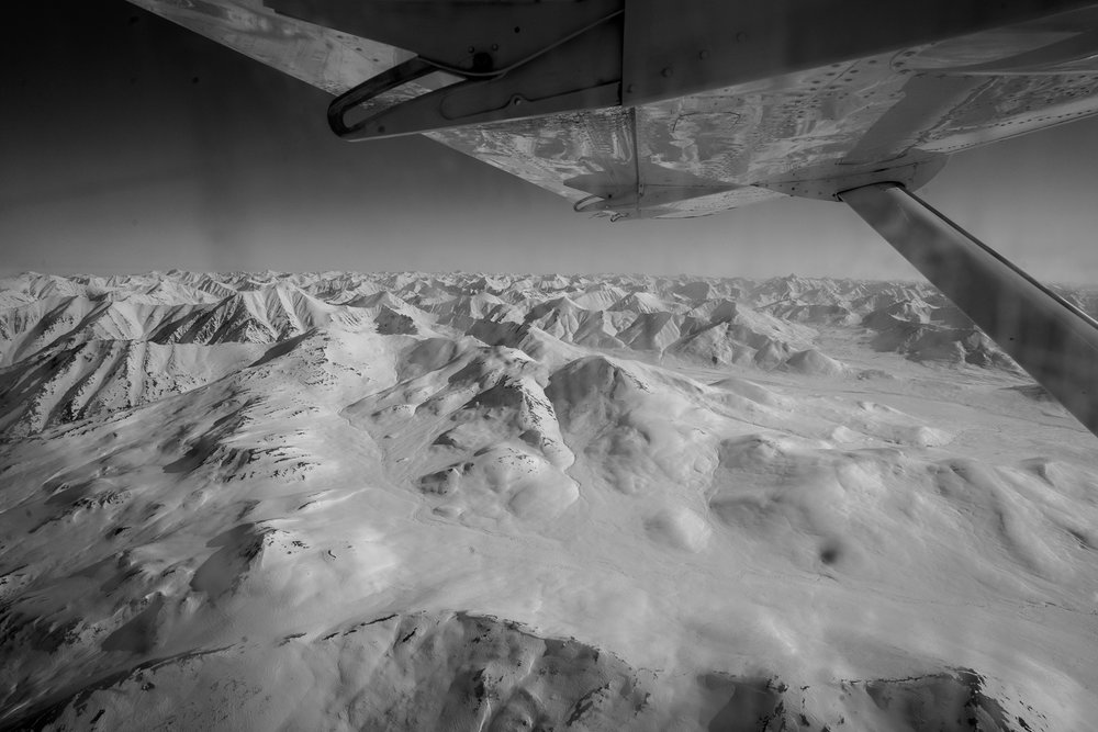 The start of the Brooks Range, Alaska