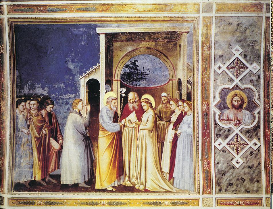 Marriage of the Virgin - Giotto