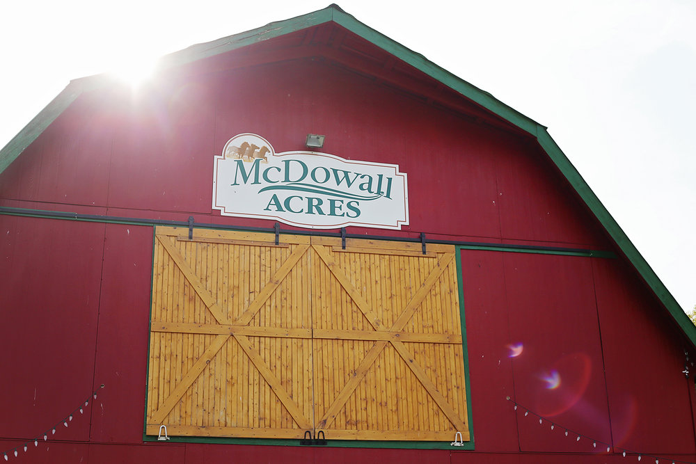 Copy of McDowall Acres Barn Wedding