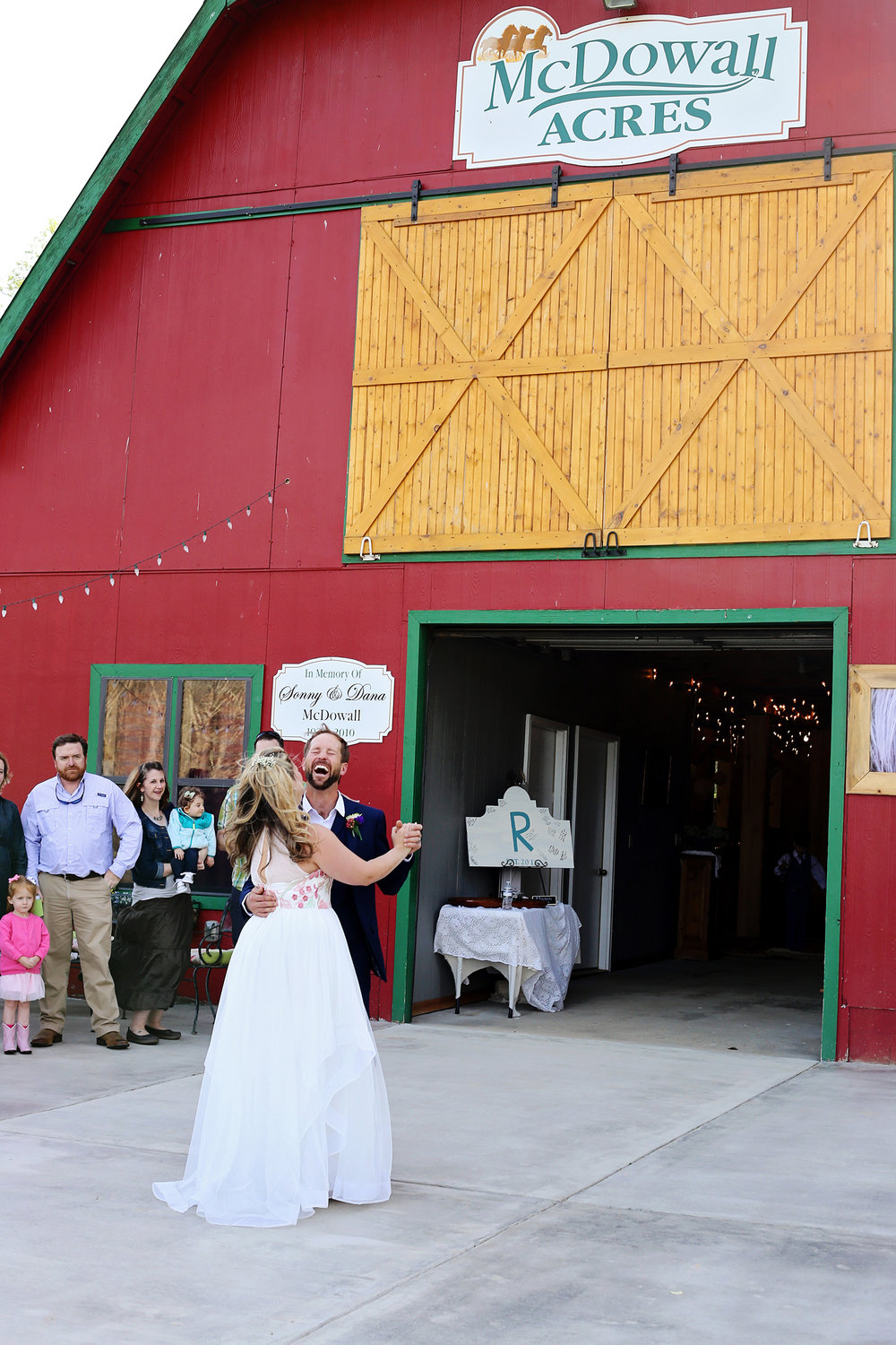 McDowall Acres Barn Wedding