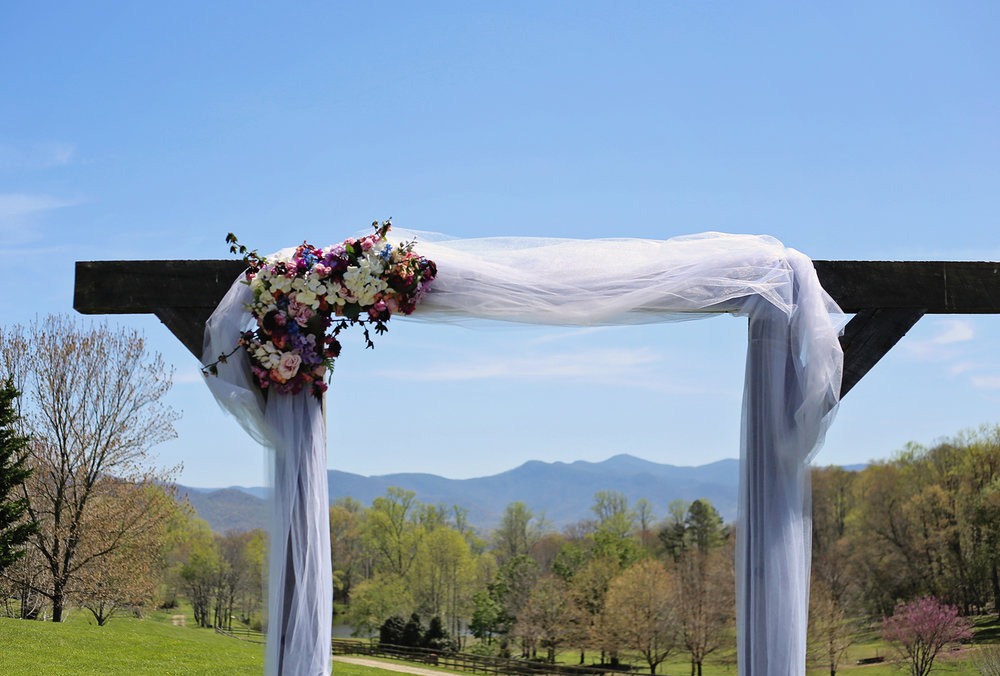Mountain Farm Wedding