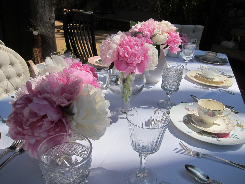 Peonies Bridal Shower