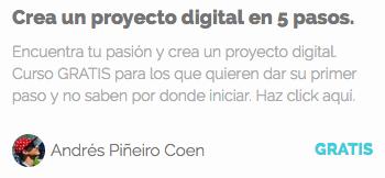 Crea un proyecto digital