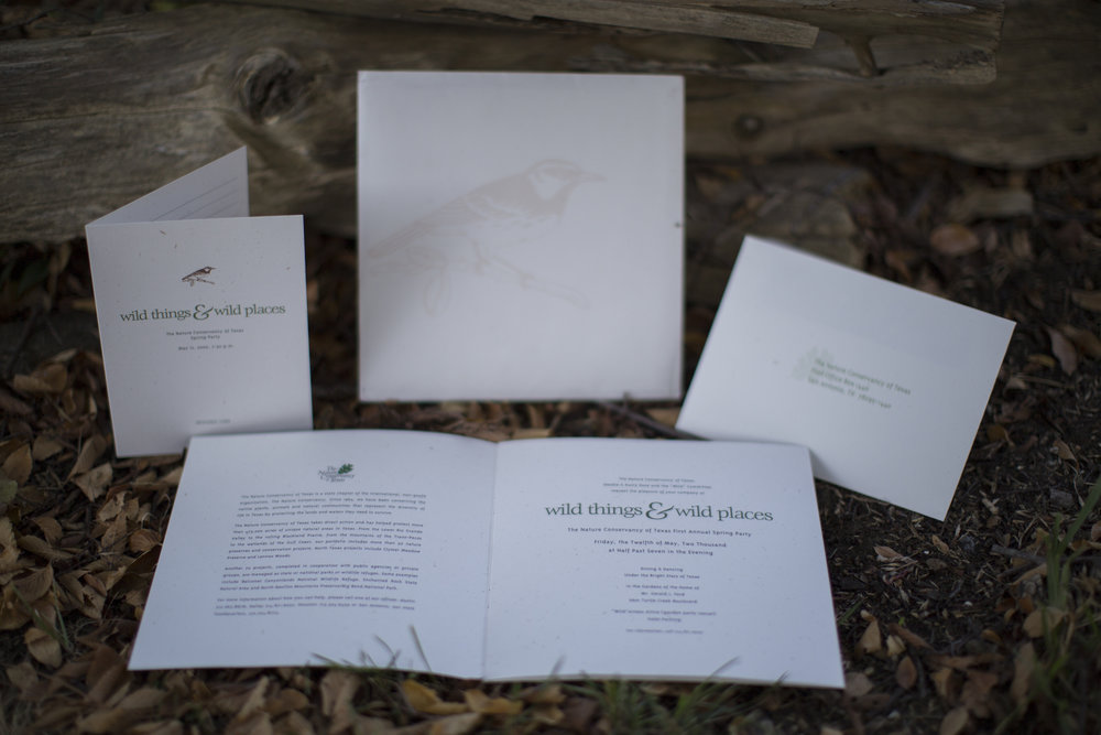 Invitations, Envelopes