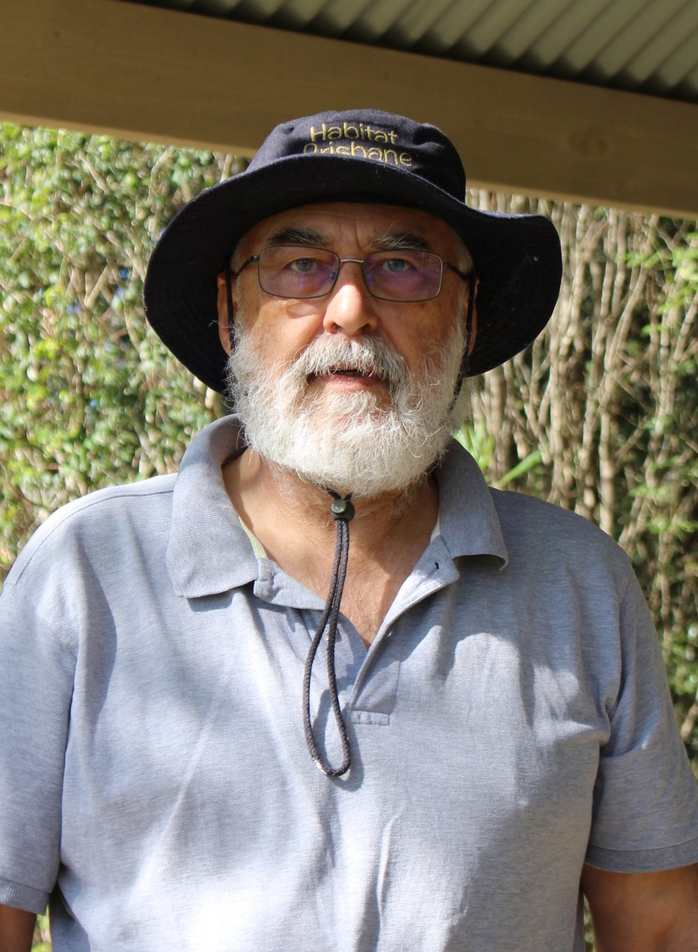 Bushcare volunteer, David Holdom.