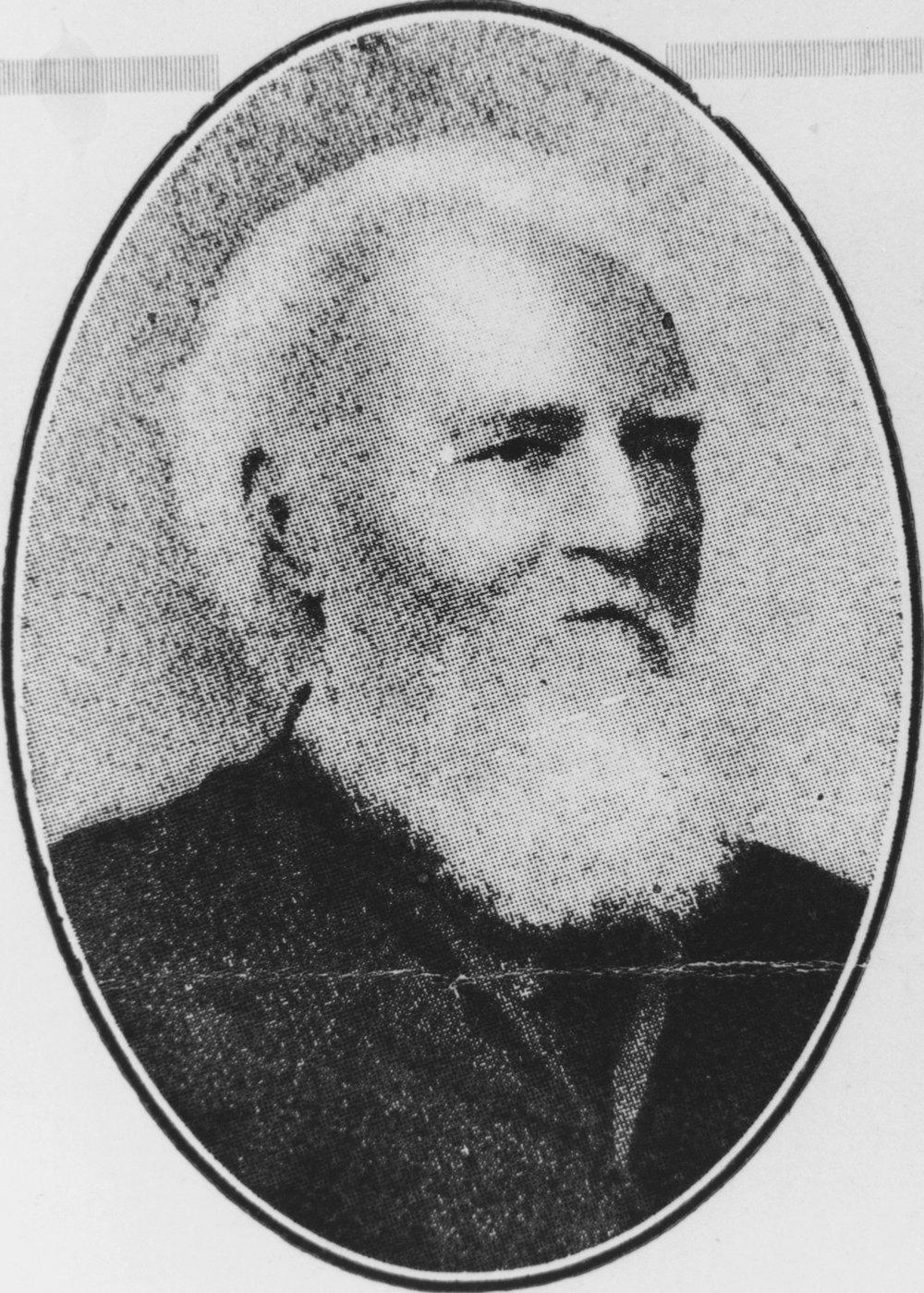 Reverend Joseph Buckle (1830–1912), photo courtesy of the SLQ, neg. no 164300.