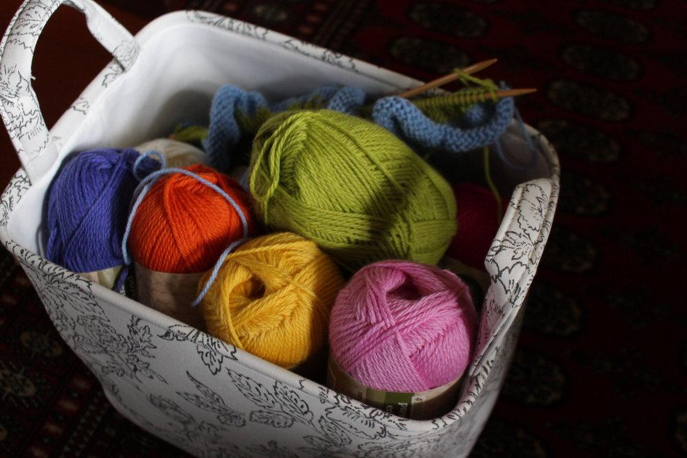 Take a basket of wool ...