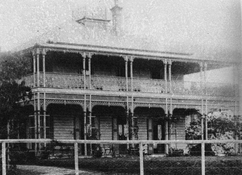 John George Cribb's residence, Fairholme. ( State Library of Queensland )