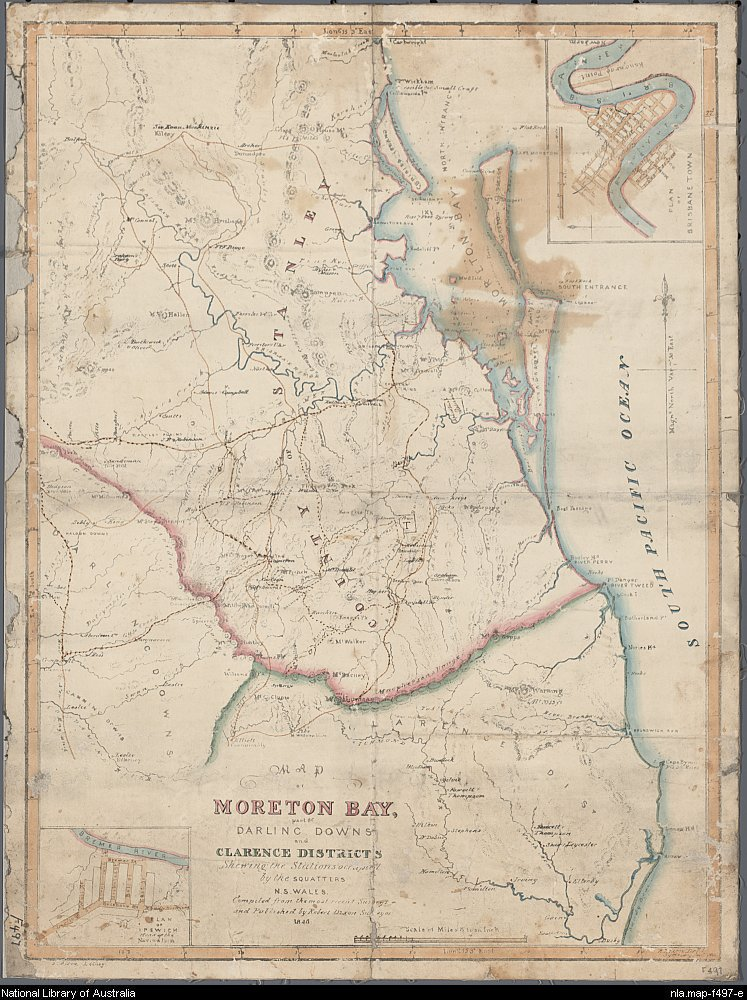 Map by Robert Dixon (1800–1858) -  Public Domain