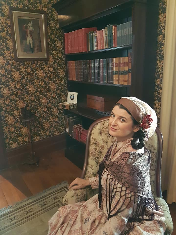 Newstead House comes to life with Lady of the House, Mrs Anna