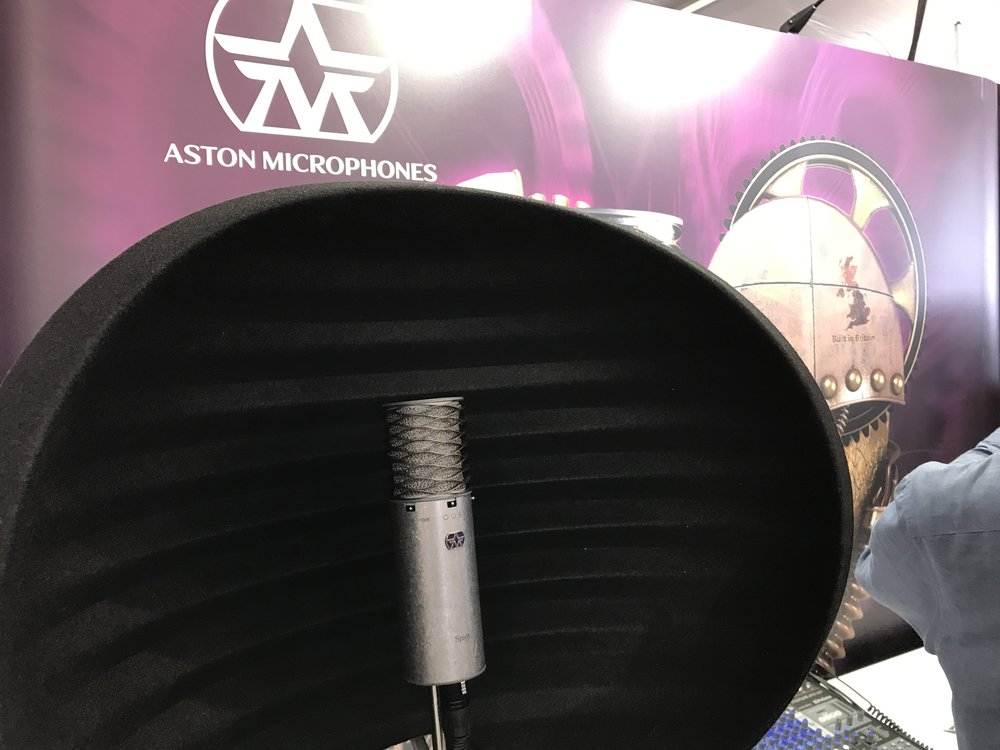Aston Booth at GearFest