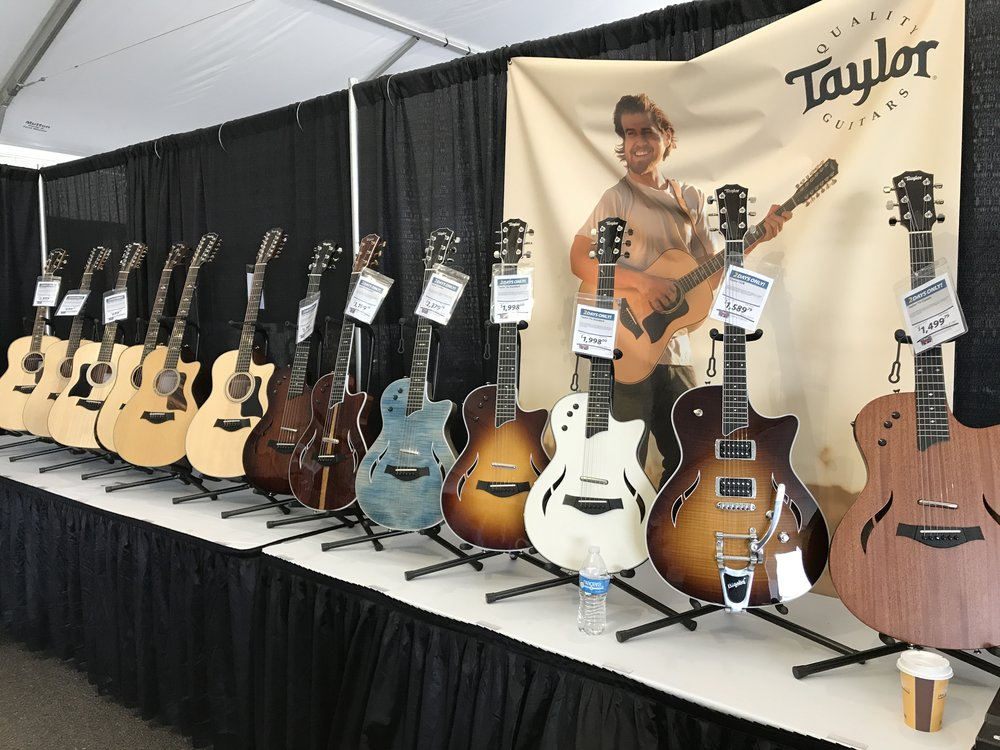 Guitars at GearFest