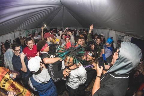 Miami U Crowd at Dcasso Show
