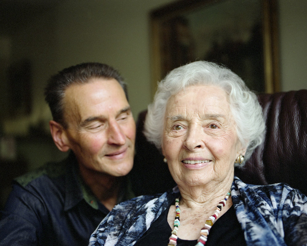 Betty and her son Tom