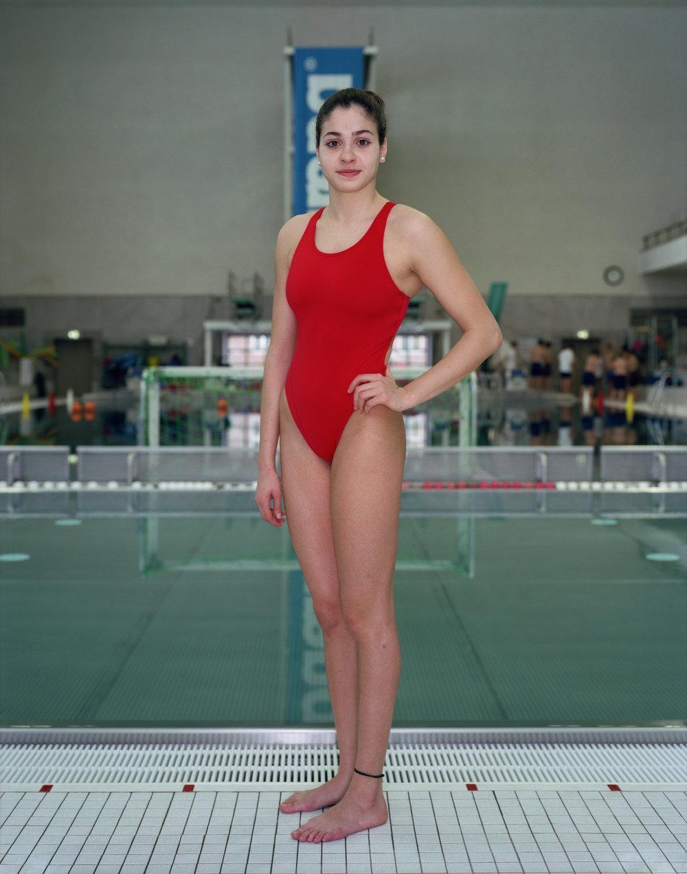 Yusra Mardini by Rineke Dijkstra