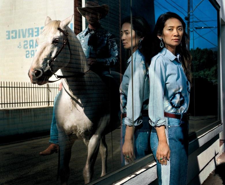 Chloe Zhao and Brady Jandreau by  Philip-Lorca diCorcia