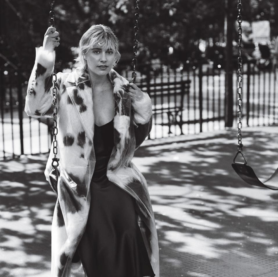 Greta Gerwig by Anton Corbijn