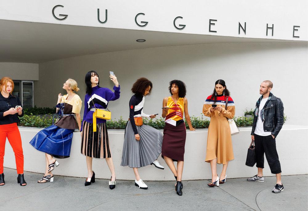 Martin Parr for Vogue Magazine