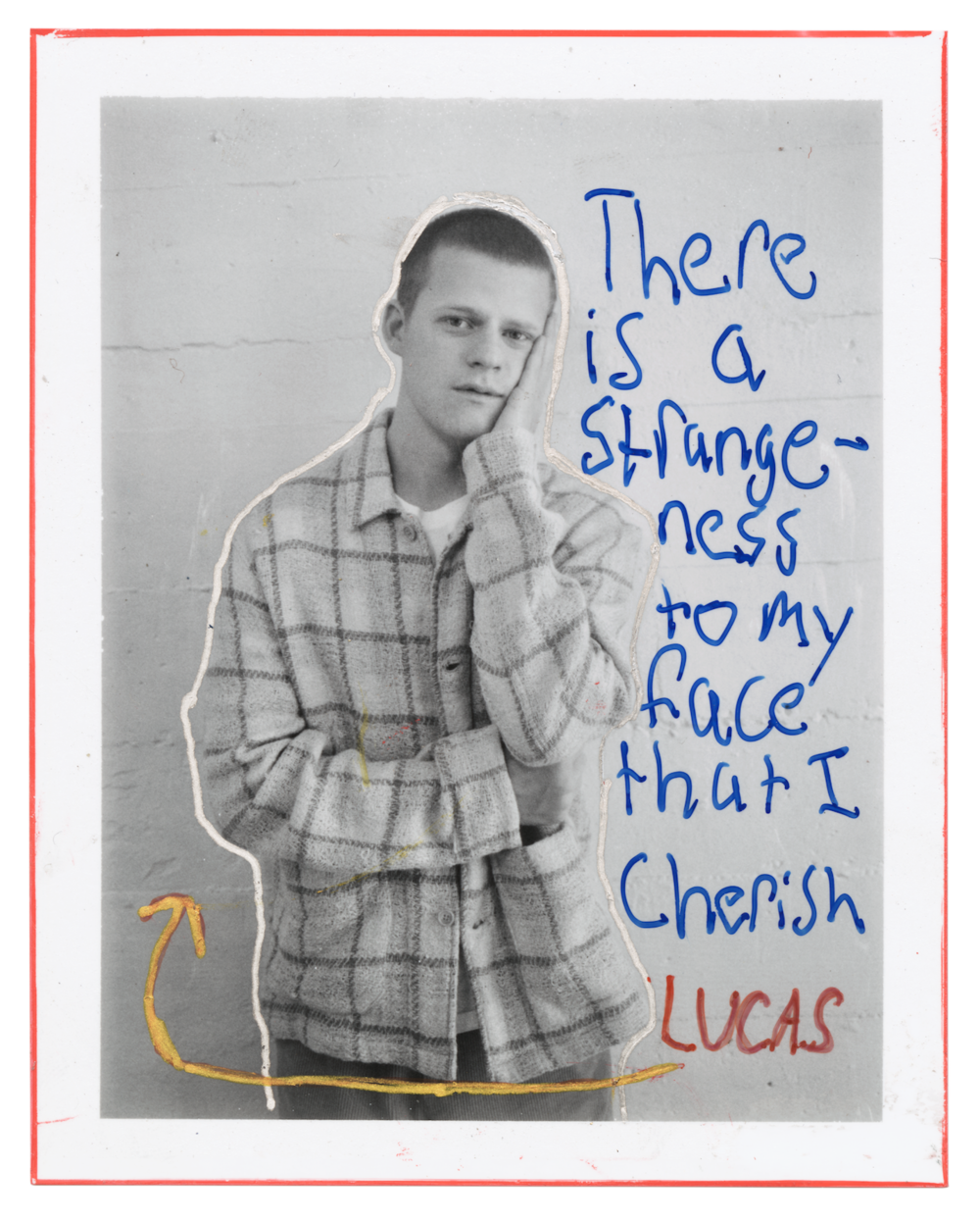Lucas Hedges by Jim Goldberg