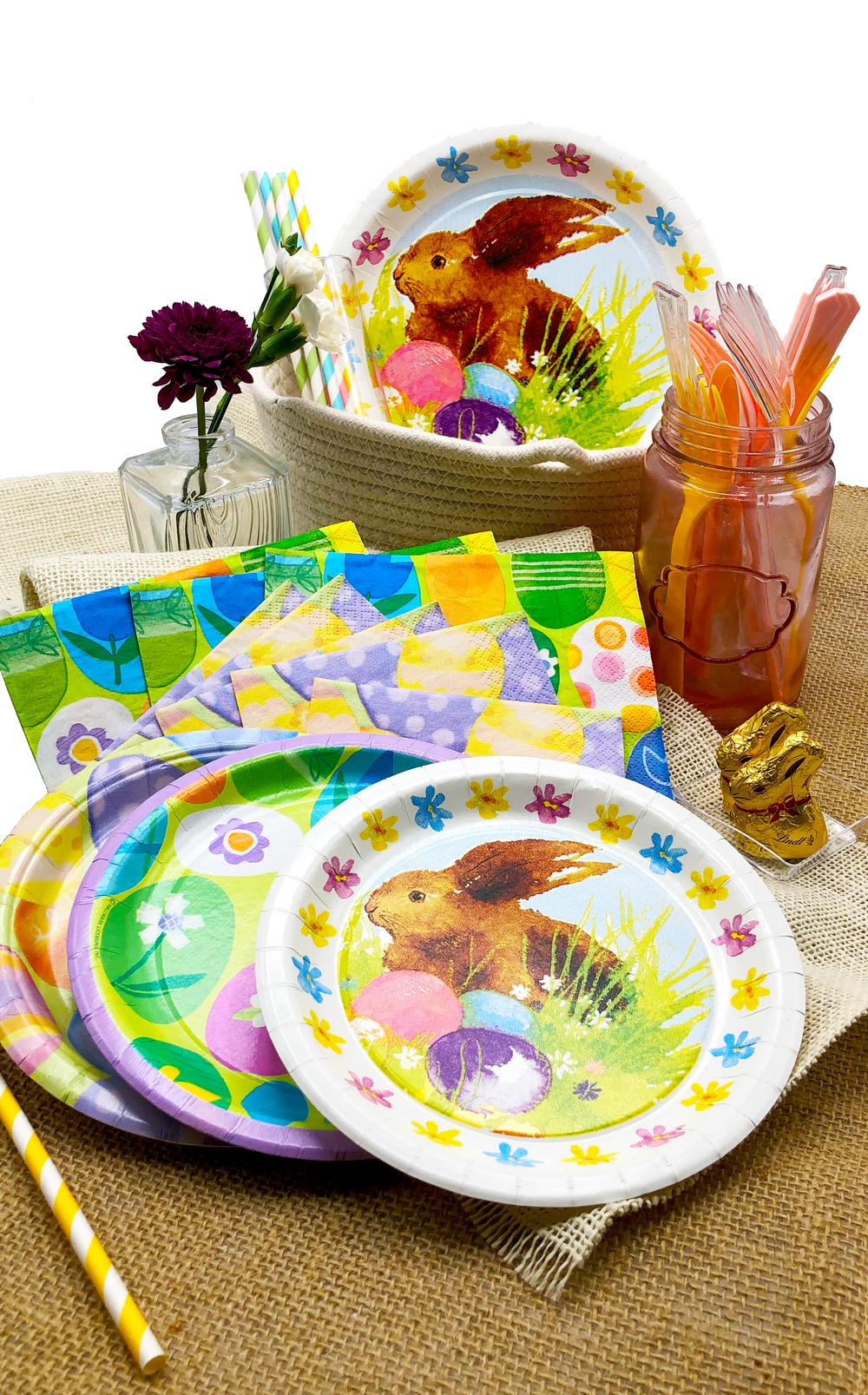 easter plates napkins burlape table set.png