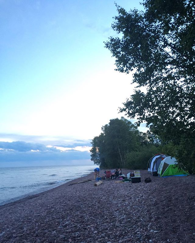 this is the only picture I took while up north this weekend. no service, good friends, and camping on the beach. it was a great weekend!!