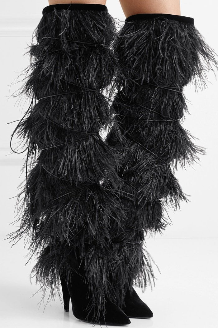 SAINT-LAURENT-Yeti-feather-trimmed-suede-over-the-knee-boots-model.jpg