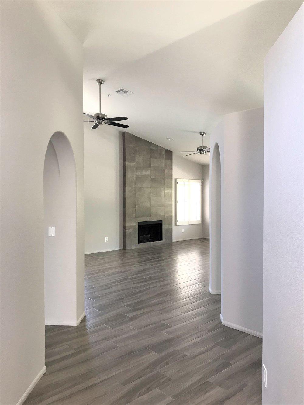 Entrance /Living Room After