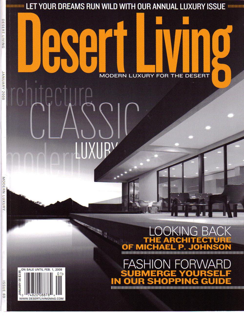 January 2008 - Desert Living (Cover).jpg