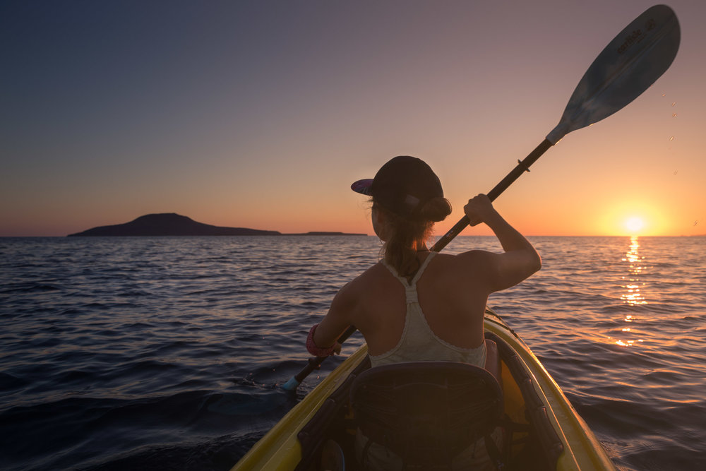 Woman Kayaking on Gulf of California to Coronado Island.jpg