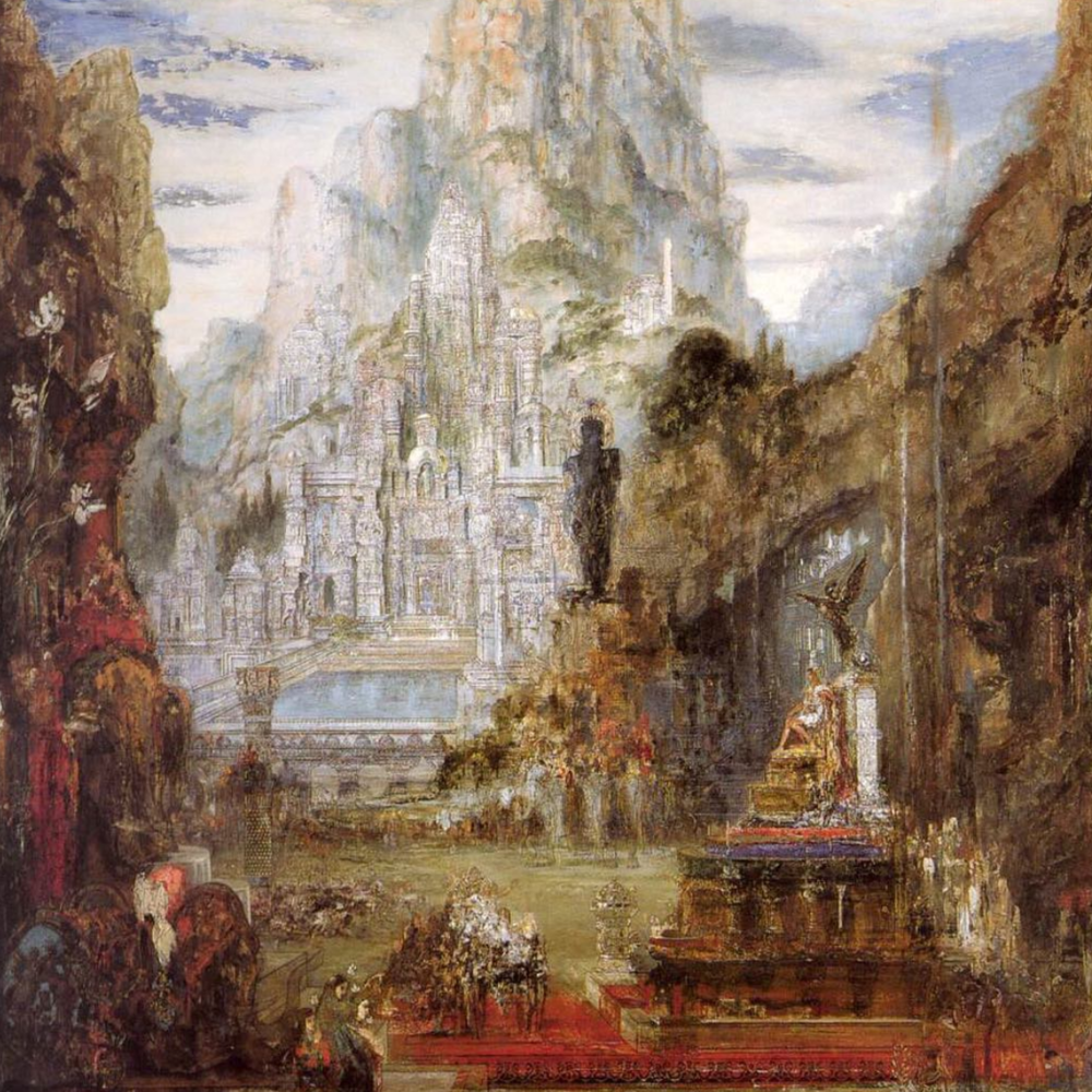 Love and light to those who have been part of this prosperous year for the Wolves. Burn good fires in this New Year!  Painting: Gustave Moreau